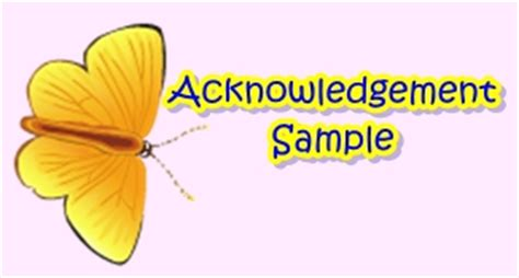 Acknowledgement letter for thesis sample pdf